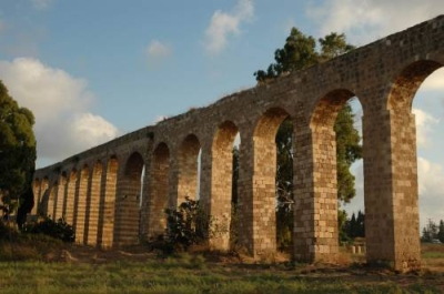 The Aquaduct in Acco