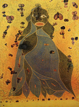Chris Ofili - Virgin Mary